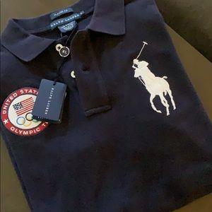 POLO RALPH LAUREN Polo Shirt.  Size Small